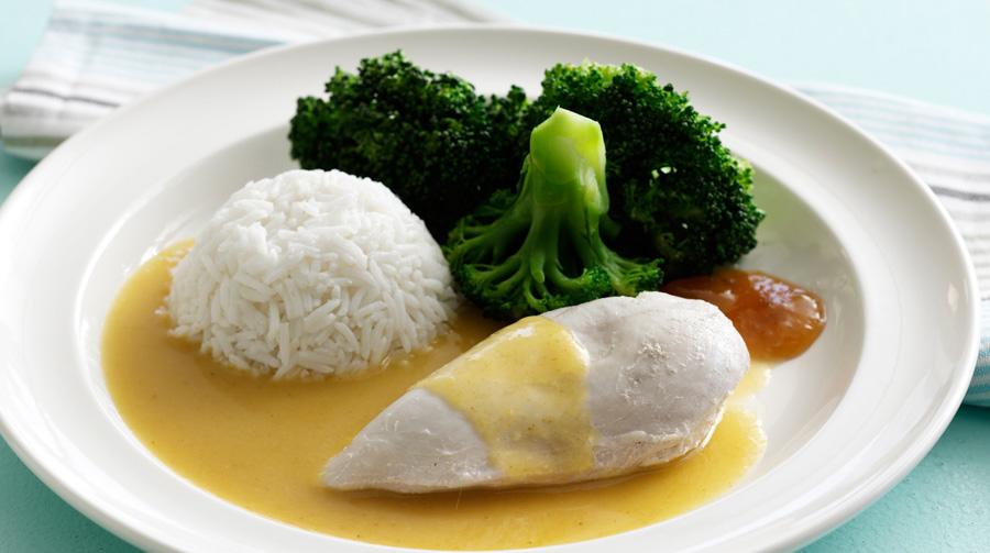 kyllingebryst med ris