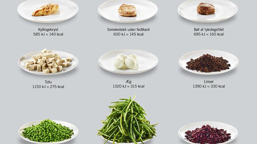 proteiner i mad