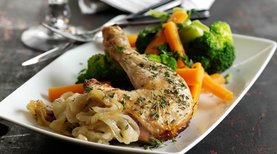 kyllingeben i ovn