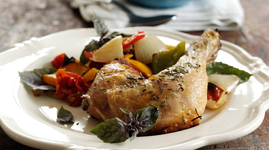 kyllingelår i ovn